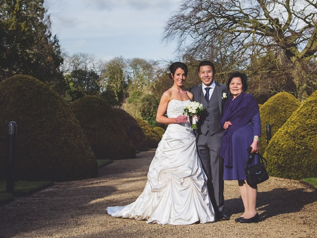 It was a glorious crisp winter day for Karen and Alan's wedding.