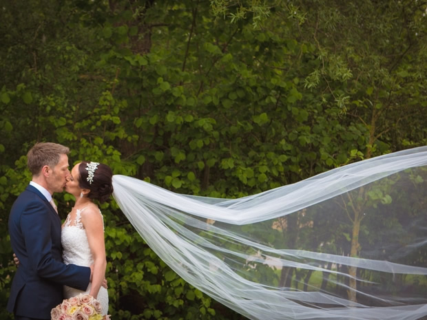 The couple celebrated their day at De Vere Cotswold Water Park. Image © Charles McArthur.