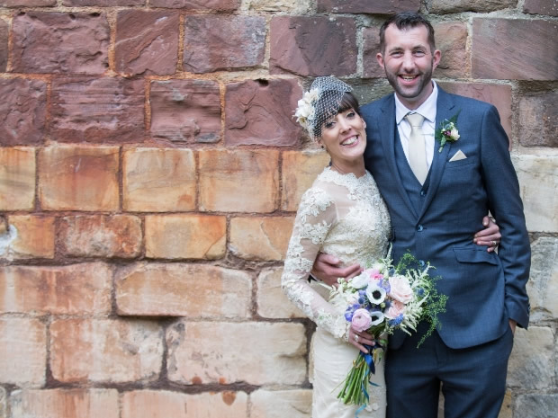 Sarah and Aide Aitken celebrated their special day at Gloucester's Blackfriars Priory.