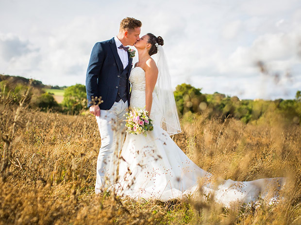 Natalie and Rob enjoyed a Cotswold celebration in the countryside. All images © Brad Wakefield Photography