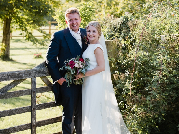 Katherine and Matthew tied the knot at their dreamy summer wedding. All images © Helen King Photography.