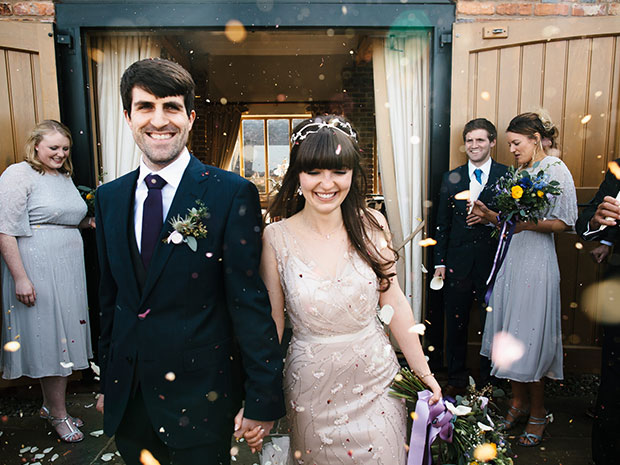 Find gorgeous inspiration from this Real Wedding at Curradine Barns. All images © Chris Barber Photography