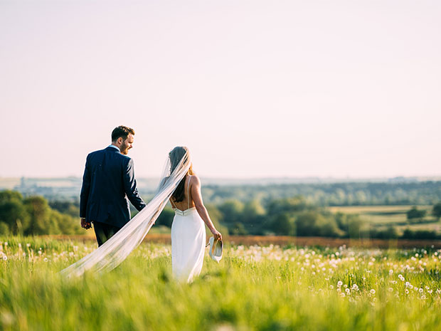 Rachel and Matthew tied the knot within the beautiful Cotswold countryside. All images © Albert Palmer Photography