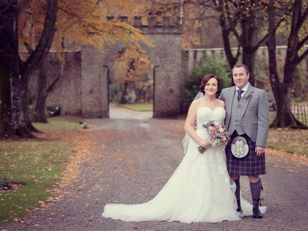 Wendy and Stephen hosted their magical winter wedding at Clearwell Castle.