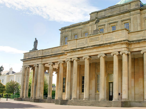 Couples can hold their big day within the stunning setting of Pittville Pump Room.