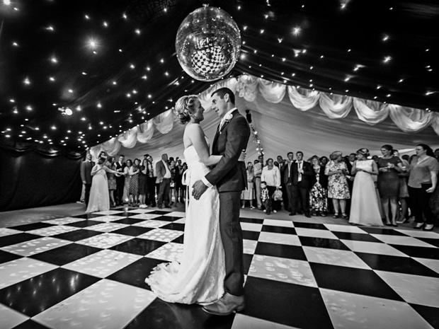 Choose from a range of marquees and floors. Image © Sarah Farnsworth Photography.