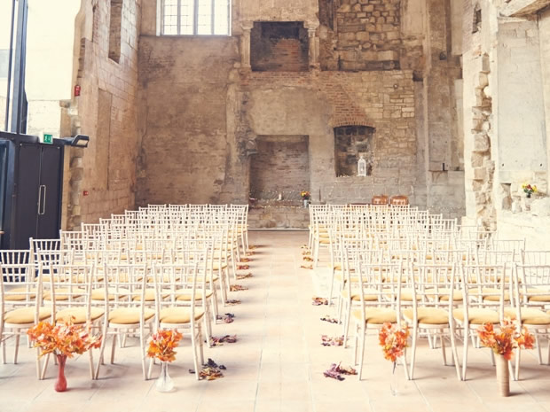 The priory is ideal for couples wanting a venue steeped in history. © Dan Fisher Photography.