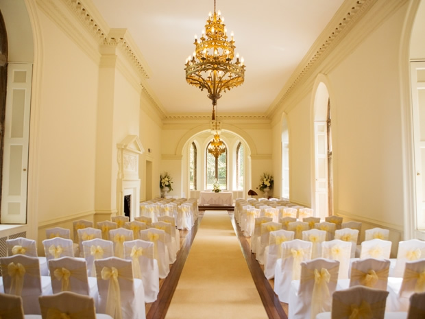 Couples can say 'I do' at the licensed wedding venue, with capacity for 150 guests.
