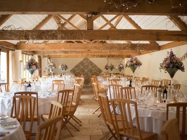 The venue benefits from charming rustic features. Image © Kayleigh Pope Photography.
