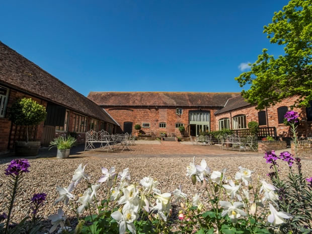 The Courtyard is just perfect for drinks receptions. Image © Paul Willetts Photography.
