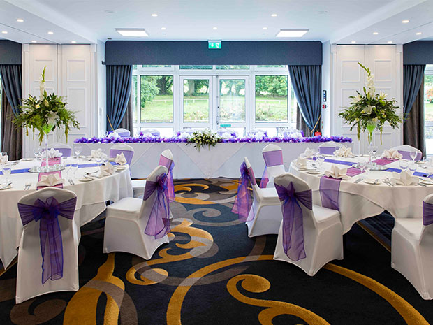 The Cheltenham venue offers a range of wedding packages for your big day.
