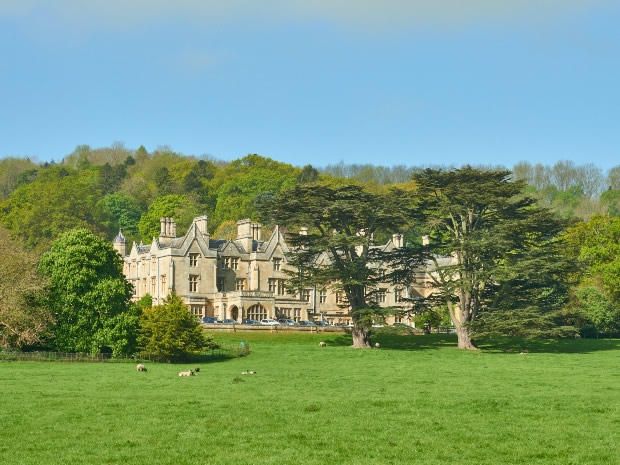 Dumbleton Hall is nestled in a picturesque setting in the Worcestershire countryside.