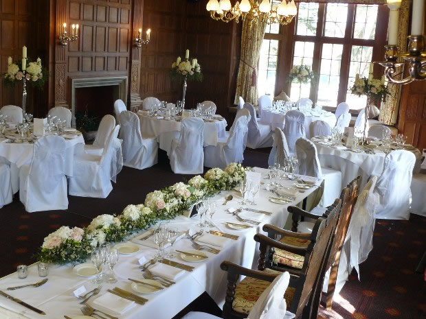 The venue's dedicated wedding team can help with planning your dream day at Dumbleton Hall.