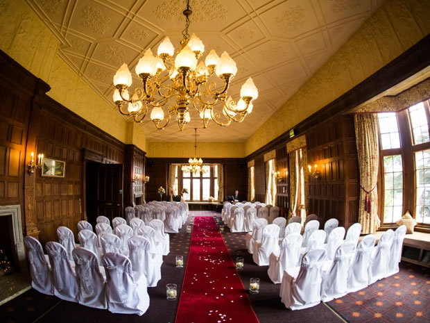 The dedicated wedding team can help with planning your dream day at Dumbleton Hall.