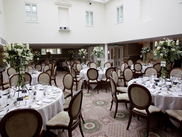 The venue naturally lends itself to an elegant theme for your big day celebrations.
