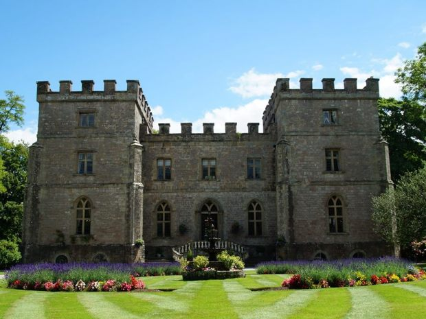 Clearwell Castle is just one of Gloucestershire's amazing fairy tale venues.