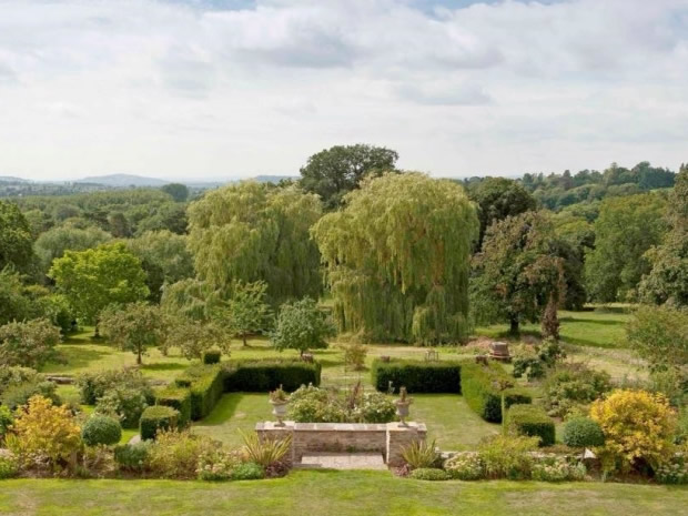 Glenfall House benefits from picturesque gardens and stunning views.