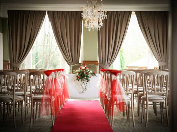 Couples can tie the knot in The Cotswold Room at the licensed Gloucester venue.