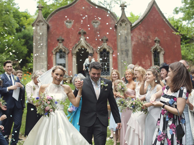 Painswick Rococo Garden provides a spectacular backdrop for wedding ceremonies.