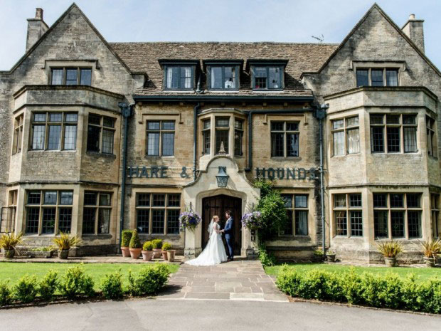 The impressive Cotswold venue is located in a picture-perfect setting near Tetbury.
