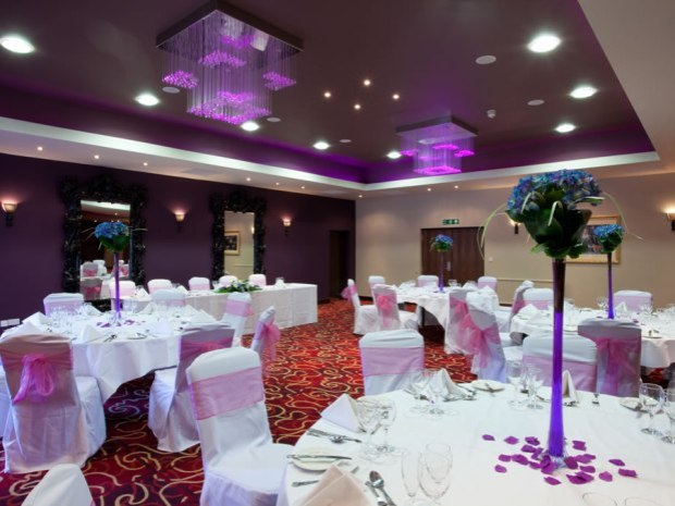 Enjoy your ceremony or wedding breakfast in one of the hotel's versatile function suites.