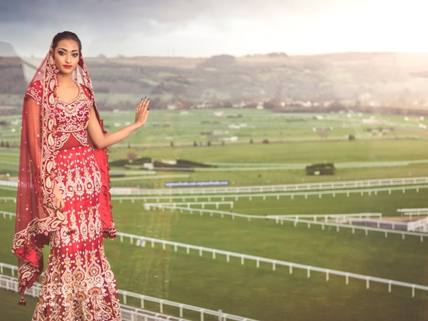 The large venue capacity of Cheltenham Racecourse makes it ideal for Asian weddings.