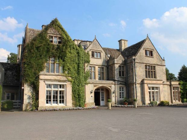 The Cotswold stone facade of The Greenway Hotel makes a lasting first impression.