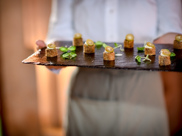 Birch Catering works closely with brides and grooms to create bespoke menus.