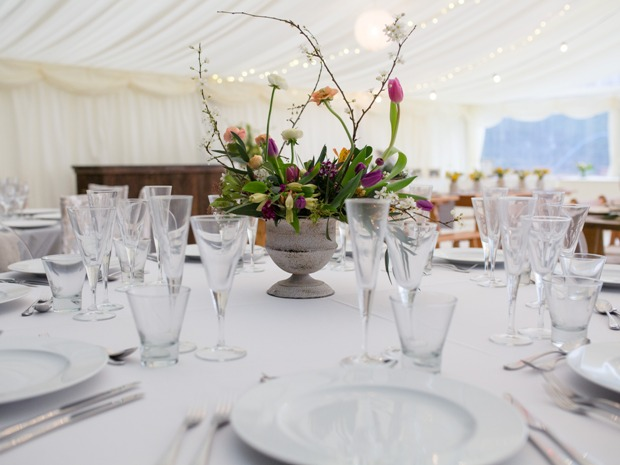 Get your table wedding ready with R&R Catering Hire. Image © Christy Blanch Photography.