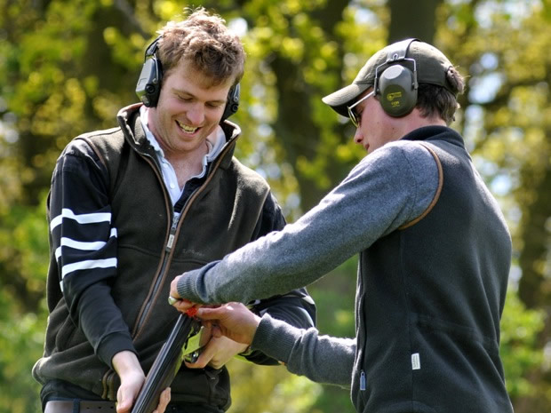 A clay shooting experience at Ian Coley is the perfect Cotswold stag do activity.